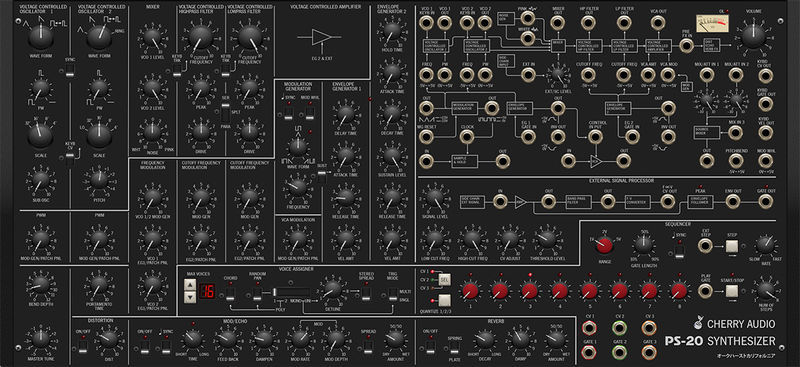Cherry Audio PS-20 Polyphonic Synthesizer