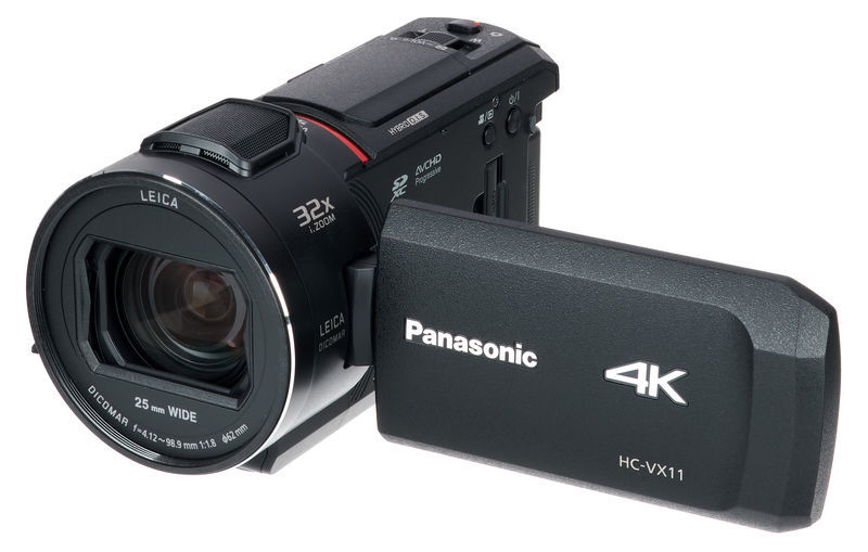 Panasonic HC-VX11 4K Ultra HD Camcorder