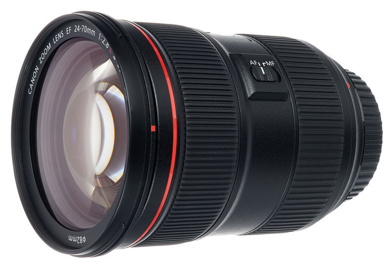 Canon 24-70mm EF f2.8L II USM Lens