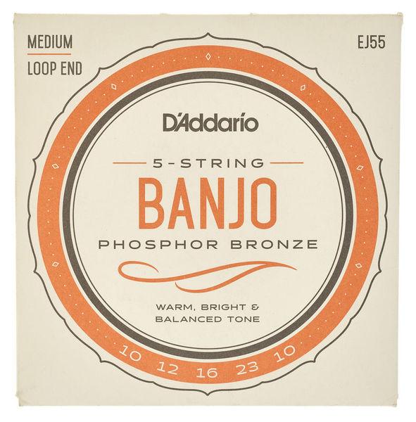 Daddario EJ55 Banjo Set
