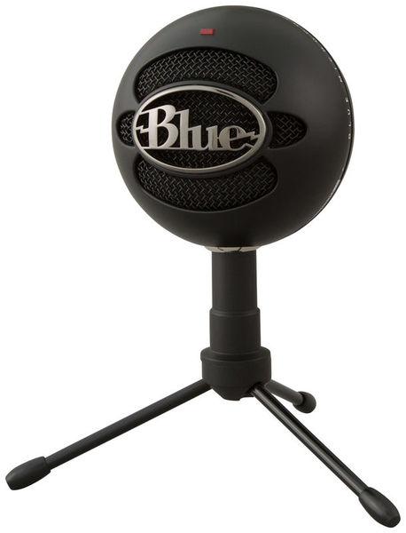 Snowball iCE USB Black Blue Microphones