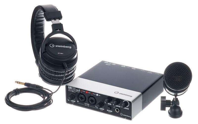 Steinberg UR22 MK2 Recording Pack Elem.