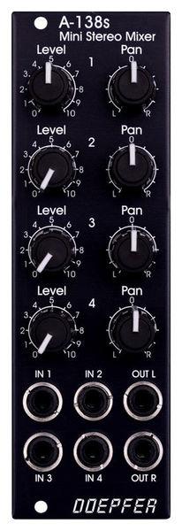A-138s VE Mini Stereo Mixer Doepfer
