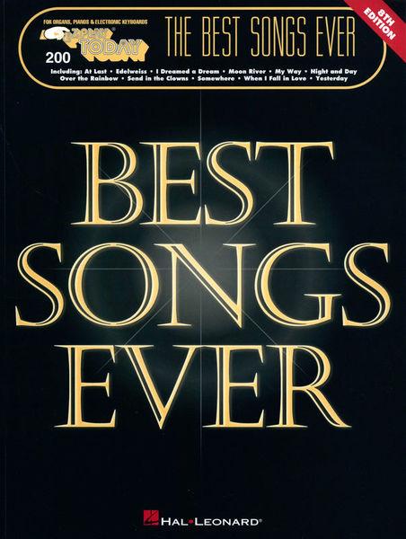 Hal Leonard The Best Songs Ever