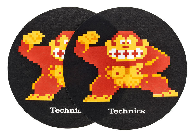 Technics Slipmat Donkey Kong