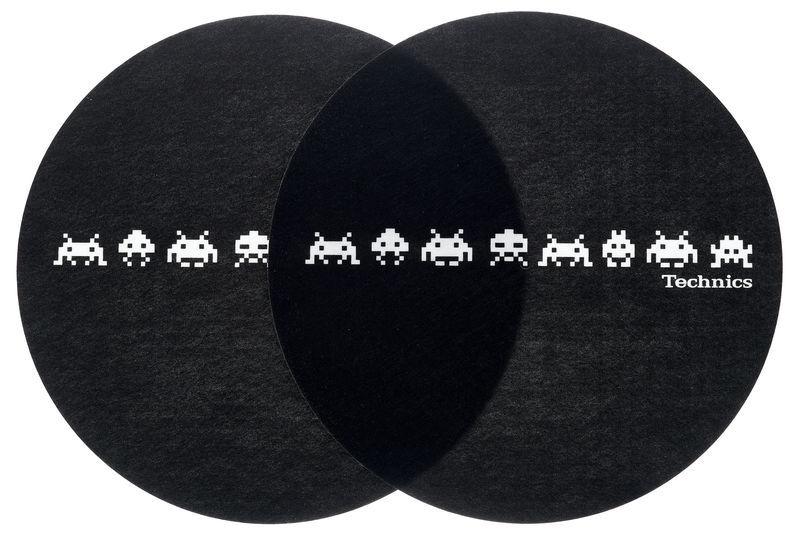 Technics Slipmat Space Invaders