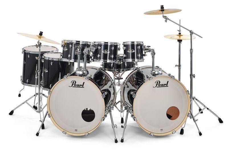 Pearl Export Double Bass Set Black