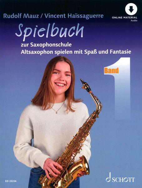 Schott Spielbuch zur Saxophonschule 1