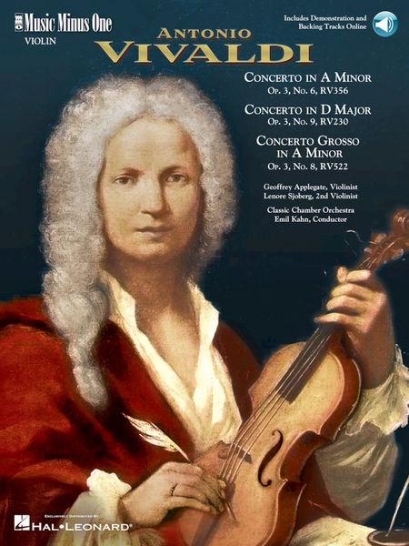 Music Minus One Vivaldi Concerti Violine