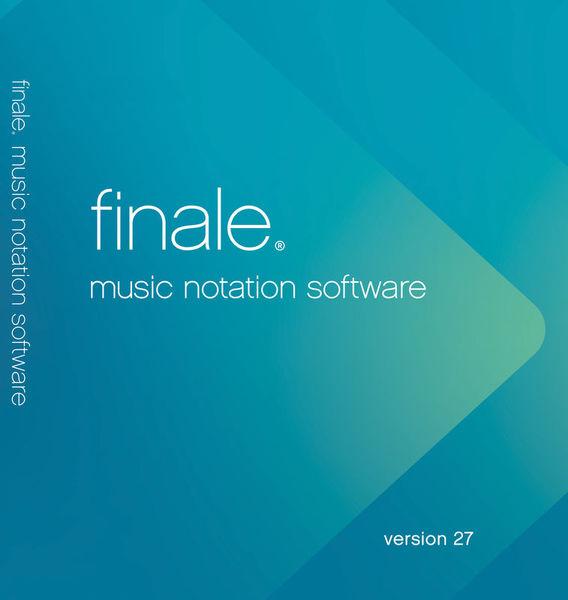 MakeMusic Finale 27 (E) Update