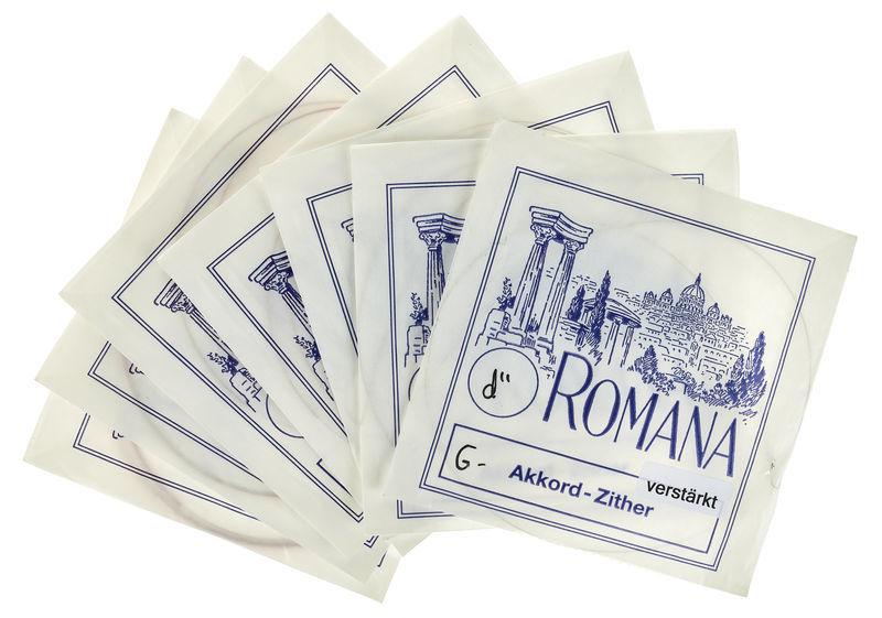 Romana Akkordzither Chord G/7-strings
