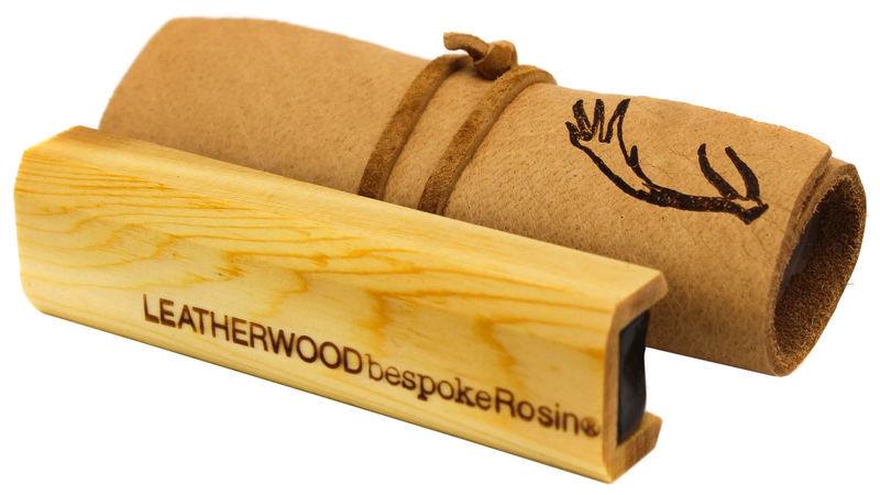Leatherwood Bespoke Rosin Violin Supple