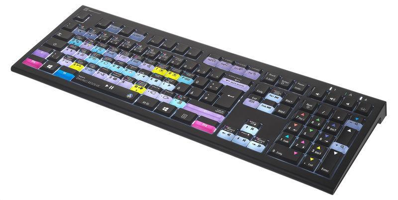 Logickeyboard Astra 2 Davinci Resolve PC DE