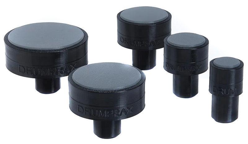 Drumprax Take 5 Practice Pads Black