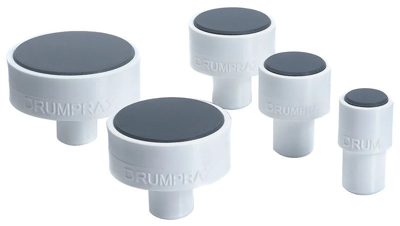 Drumprax Take 5 Practice Pads White