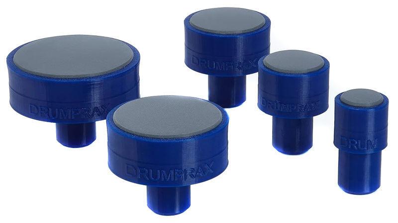 Drumprax Take 5 Practice Pads Dark Blue
