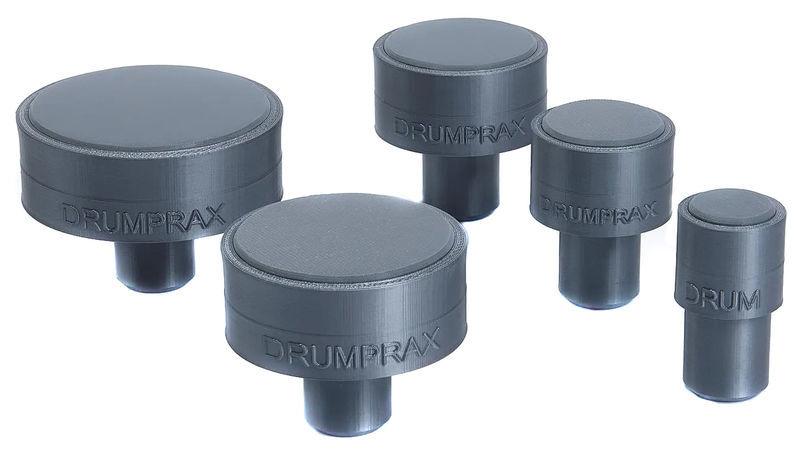 Drumprax Take 5 Practice Pads Grey