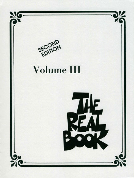 Hal Leonard Real Book 3 C
