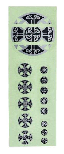 Jockomo Celtic Cross Emblem Fret Mark