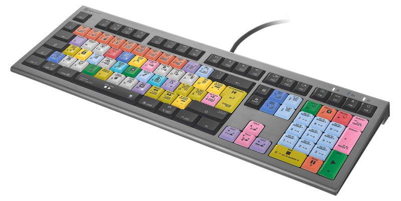 Logickeyboard Astra 2 Logic Pro X2 Mac DE