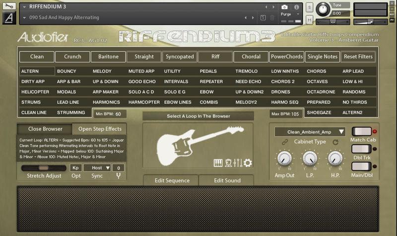 Audiofier Riffendium Vol. 3