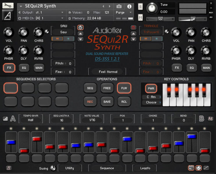 Audiofier SEQui2R Synth