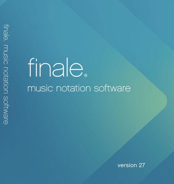 MakeMusic Finale 27 (D) Update 25