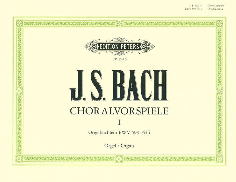 Edition Peters Bach Orgelbüchlein