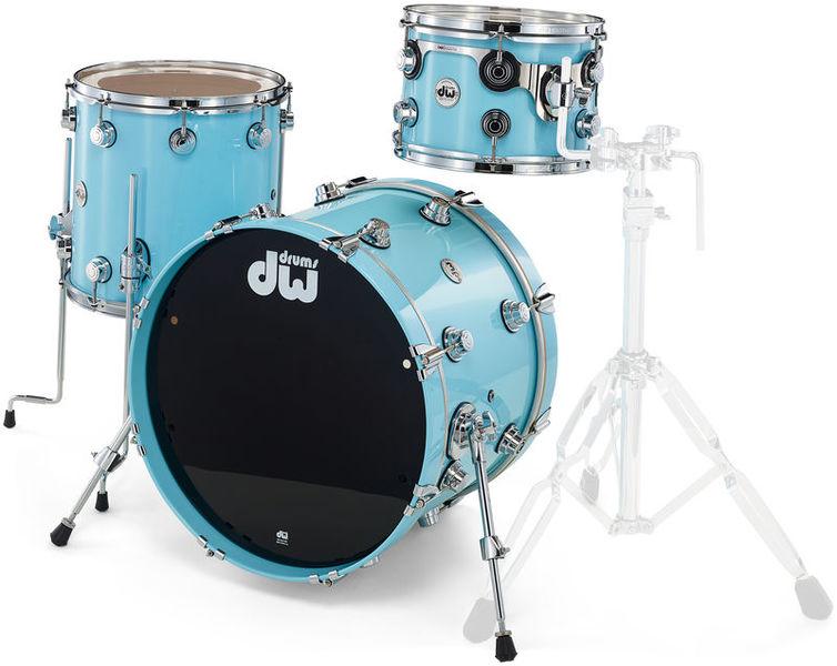 DW Lacquer Custom Studio Egg Blue