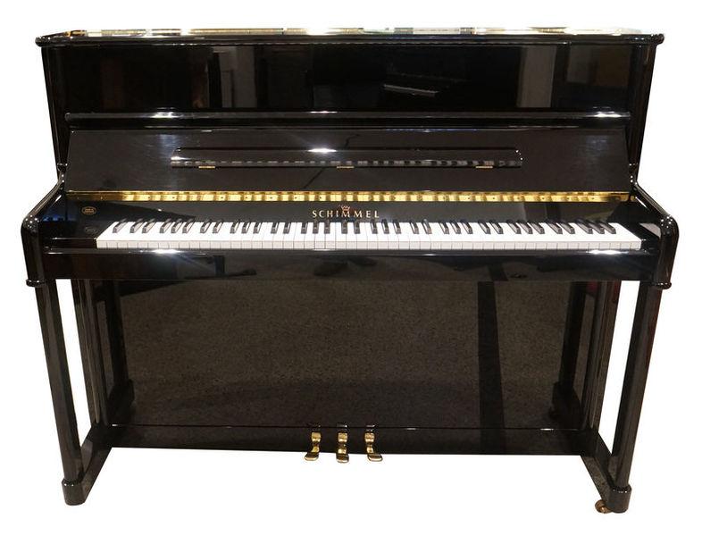 Schimmel Piano used black