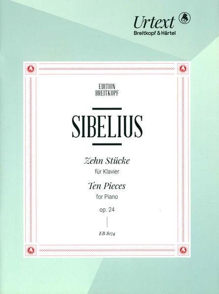 Breitkopf & Härtel Sibelius Zehn Stücke op. 24