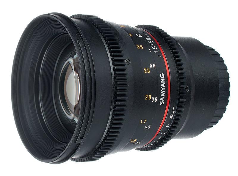 Samyang MF 50mm T1,5 Video DSLR II MFT