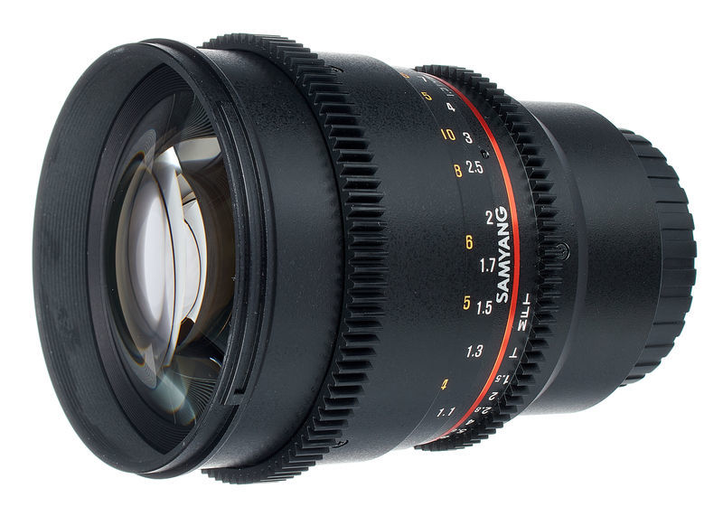 Samyang MF 85mm T1,5 Video DSLR II MFT