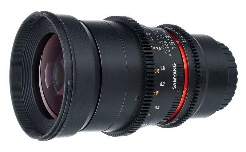 Samyang MF 35mm T1,5 Video DSLR II MFT