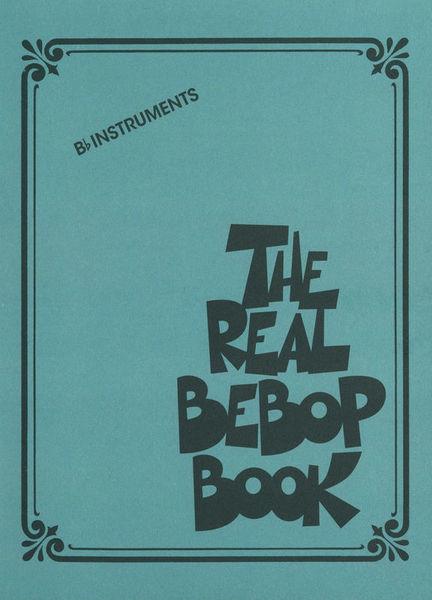 Hal Leonard The Real Bebop Book Bb