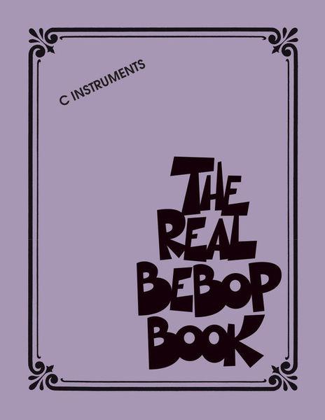 Hal Leonard The Real Bebop Book C