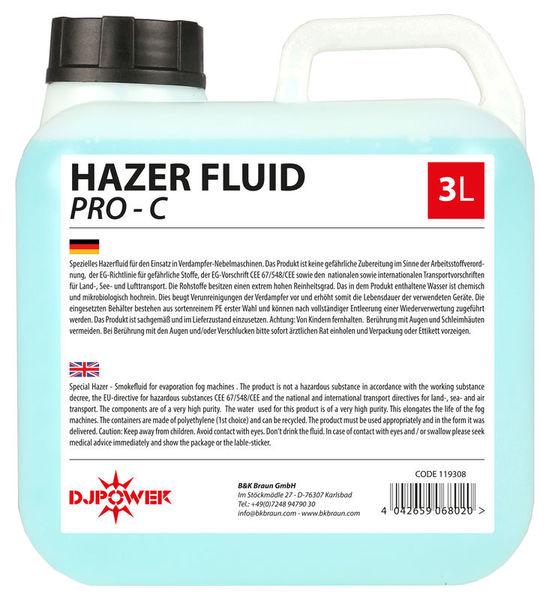 DJ Power Haze Fluid PRO-C 3L