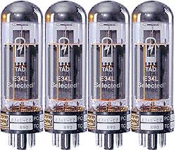 TAD E34L-CZ Tubes Matched Quartett