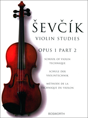 Bosworth Sevcik Violin Studies op.1 /2