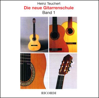 Ricordi H. Teuchert: Gitarrenschule CD