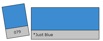 Lee Colour Filter 079 Just Blue