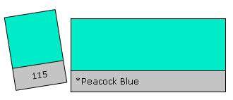 Lee Colour Filter 115 Peacock Blue
