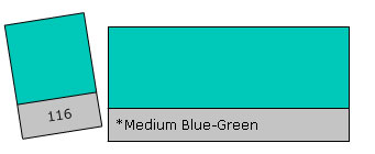 Lee Colour Filter 116 M.Blue Green