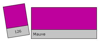 Lee Colour Filter 126 Mauve