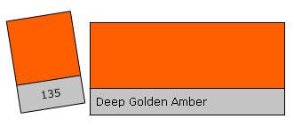Lee Colour Filter 135 D. G. Amber