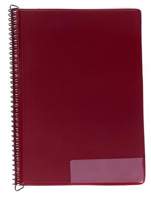Star Marching Folder 245/15 Red