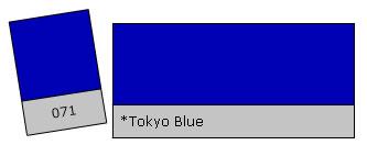 Lee Colour Filter 071 Tokyo Blue
