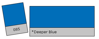 Lee Colour Filter 085 Deeper Blue