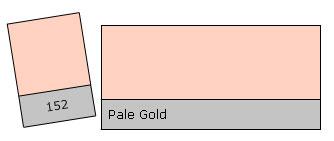 Lee Colour Filter 152 Pale Gold