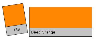 Lee Colour Filter 158 Deep Orange